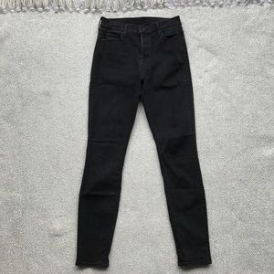 Mother Dark Grey The Stunner Jeans